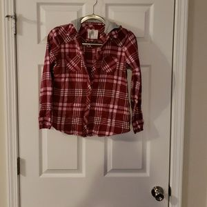 Justice Girls button up shirts
